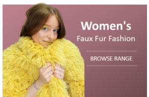 Womens Faux Fur Fashion