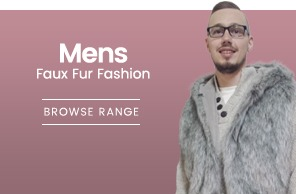 Mens Faux Fur Fashion