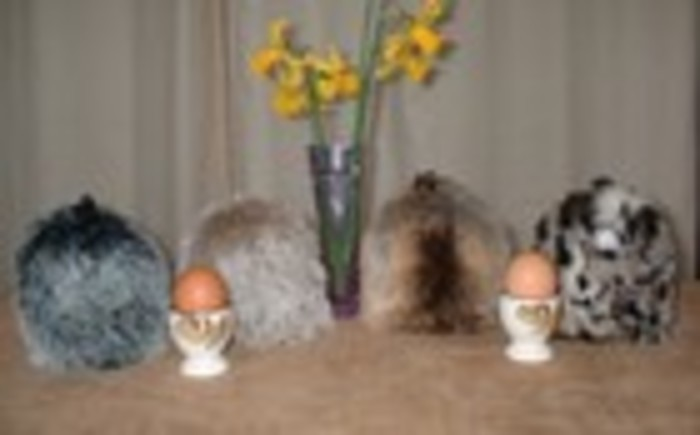 Fabulous New Faux Fur Egg and Tea Cosies