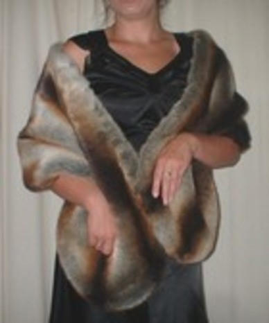 Vogue feature our Faux Fur Stoles