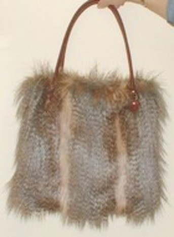 New Faux Fur Bags in 3 styles